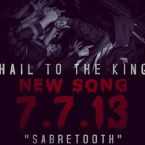 RT @AvengedColombia: Estreno mundial : 7 De Julio : NUEVA CANCION : Sabretooth , lo nuevo de Avenged Sevenfold http://t.co/pLdvcYDnj0