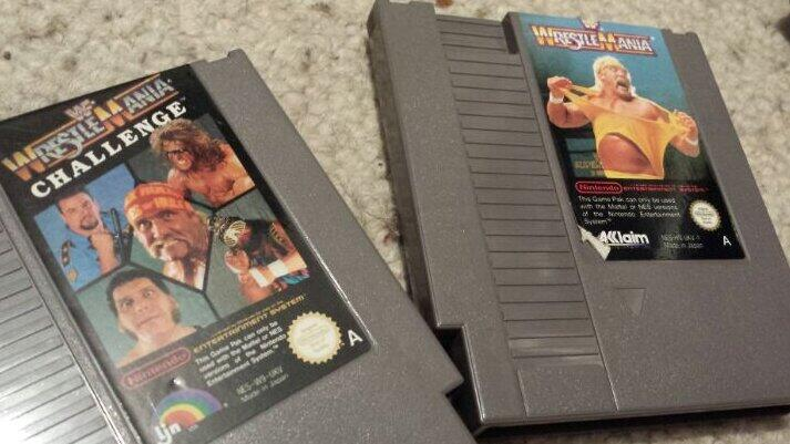 The Rock who? This is what wrestling is all about. #retrogaming #nintendo http://t.co/5MS8XHkyPw