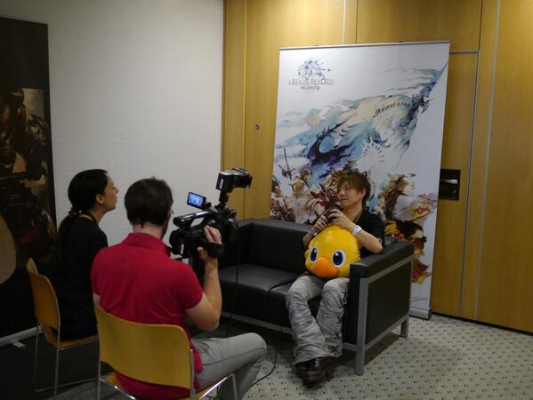 RT @FF_XIV_JP: 吉田Pのインタビューラッシュも始まりました。今日はテレビが多めのようです #FF14 http://t.co/cXTG7ZsRIP
