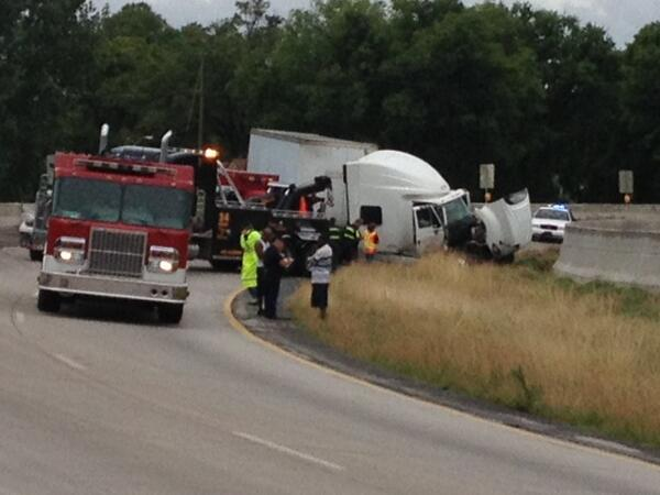"""""""@jgray78: I-59 S at Deaman's Curve in Bham will be closed until about 3 p.m. after car hit wall, medics en route"""" http://t.co/1cq5xBouDe"""