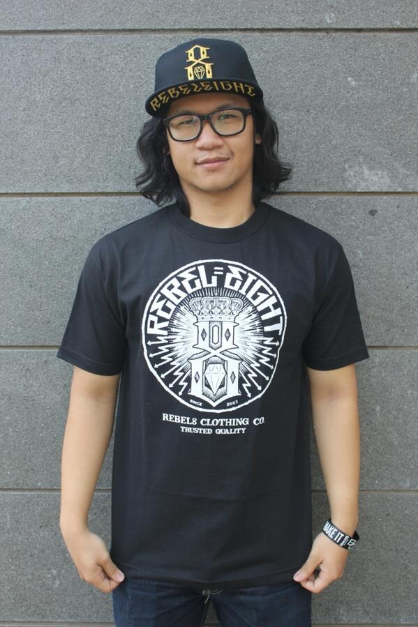 """@REBEL8 #spring13 """"SEWER KING"""" BLACK IDR. 379K 