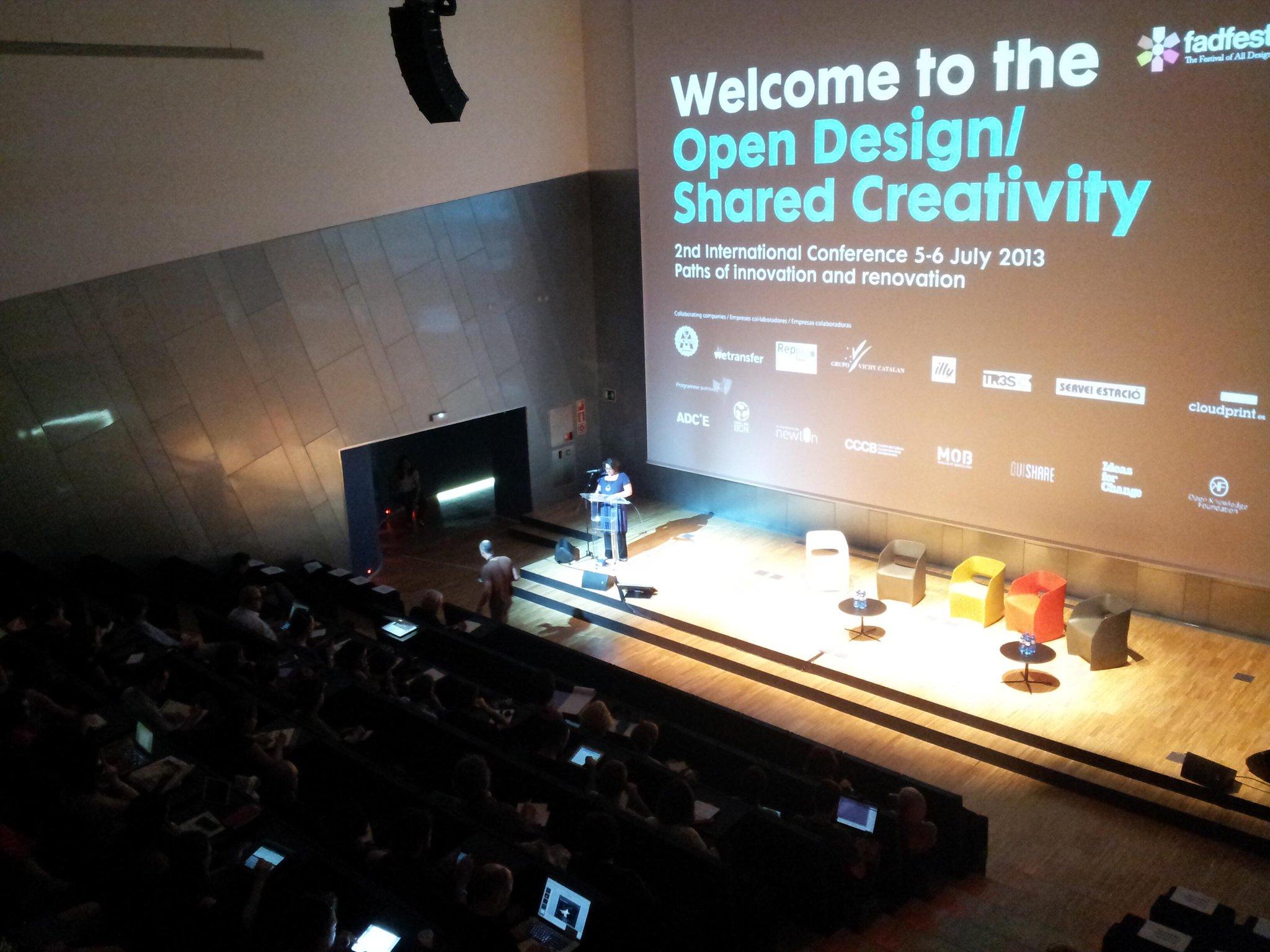 Inaguración de las conferencias. http://t.co/HFO3ok0YSD