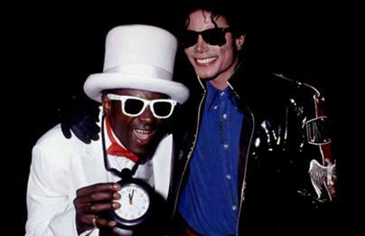 Friendly Friday: @FlavorFlav and Michael Jackson http://t.co/DxMZYVvchx
