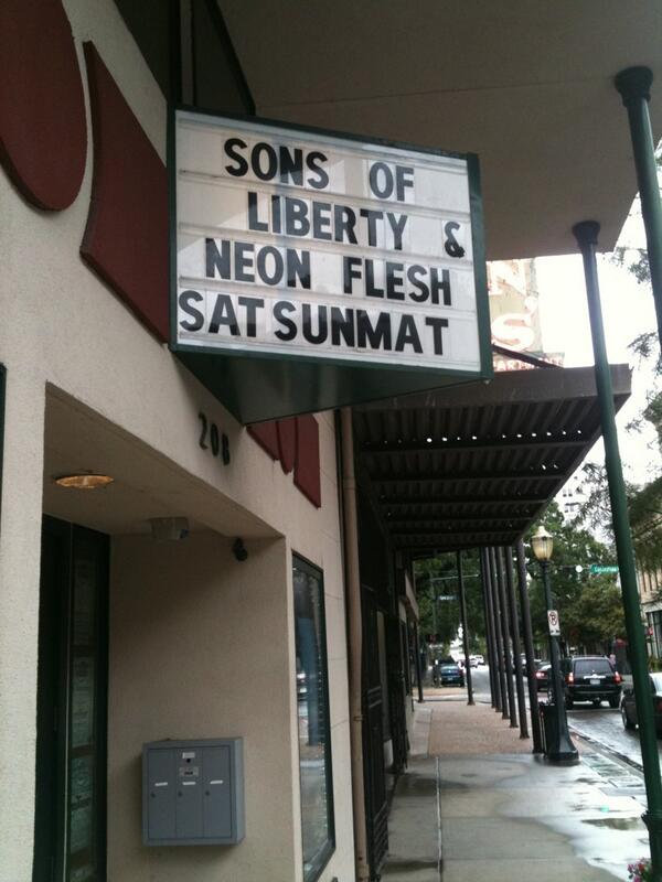 Neon Flesh in Alabama #TonightAtTheCrescent http://t.co/cQp5oTEzSN