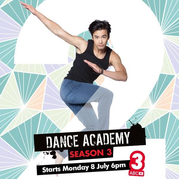 #DanceAcademy S3 premieres on MONDAY, July 8 at 6pm on #ABC3! 2 DAYS to go and counting... http://t.co/8rtmXmTRdq
