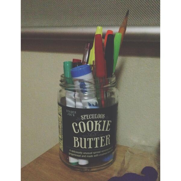 Recycled Cookie Butter Jar ✌ http://t.co/Zsp3NHy6n5