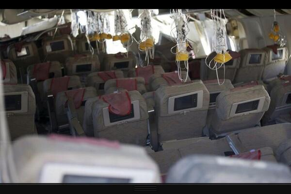 Take a look at a passengers view from inside flight 214. http://t.co/K3iNQuwxpZ