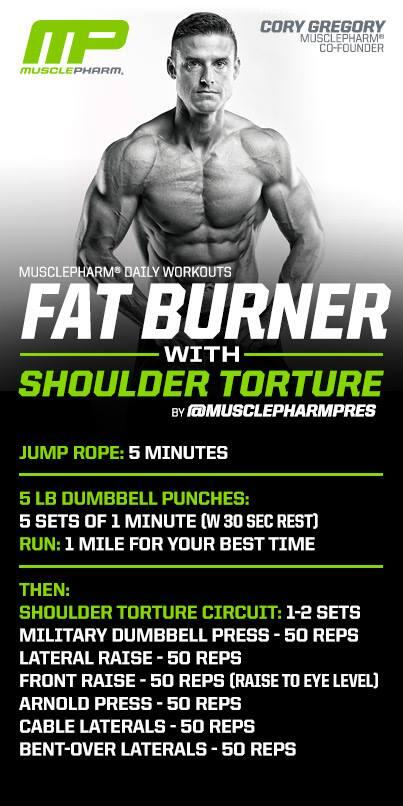#FatBurner & #ShoulderDay Mix from @MusclepharmPres http://t.co/YWr0hx3yMs