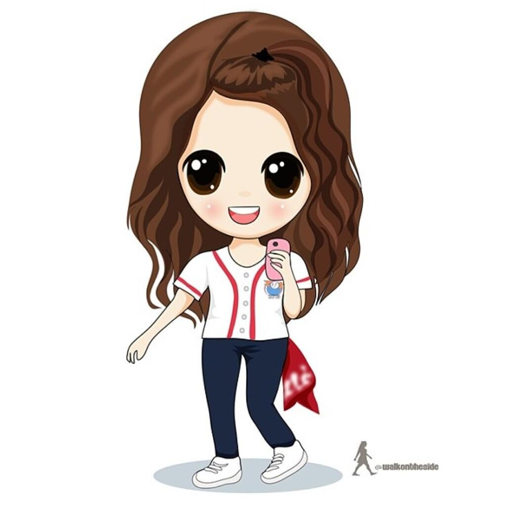 [TỔNG HỢP] Chibi Yoona BOsR8FoCYAAiDGi
