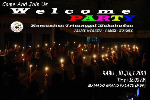 H-1, WELCOME PARTY! (Praise&Worship,Games,Komsel) at MGP (beside swimming pool) 6pm. All are invited, very welcome ☺ http://t.co/nOiIkTqCjE