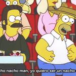 ♫Nacho nacho man, yo quiero ser, un Nacho man...♫ http://t.co/b26gQOyc2v