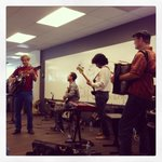 Thanks to @cahoneydrops for serenading us this afternoon. #Pandora #Oakland http://t.co/9OL4Danxli