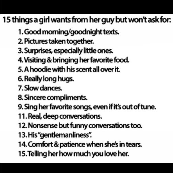 Things to ask girl