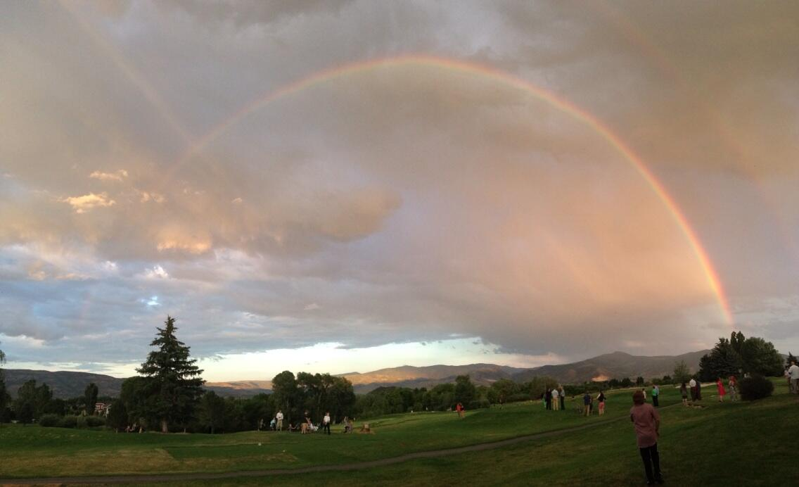 Now that's a rainbow (double even) http://t.co/ny6mUTSdkz