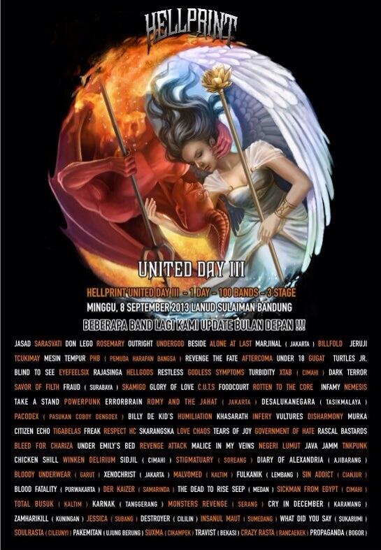 HELLPRINT UNITED DAY III - 8 SEPT 2013 http://t.co/QGrU9BNGH5