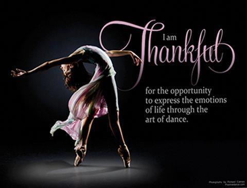 """""""I am thankful for the opportunity to express the emotions of life through the art of dance."""" #dance #opportunity http://t.co/ueWzviImZF"""