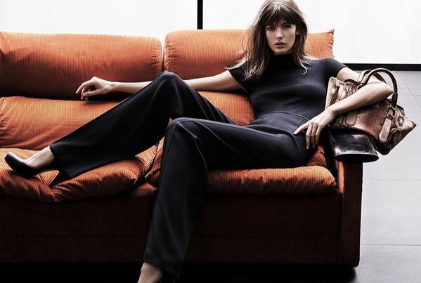 Model @Kendra_Spears looks relaxed in the fall campaign from @ESCADA http://t.co/J3ID4RkDnx
