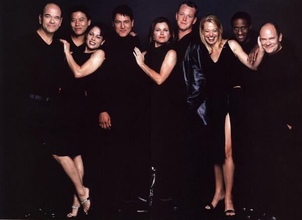 "RT @TrekCore: Happy memories of the Voyager crew, posing ""Friends""-style @GarrettRWang @RobertPicardo @RobertDMcNeill @JeriLRyan http://t.co/ML1i3x5GRu"