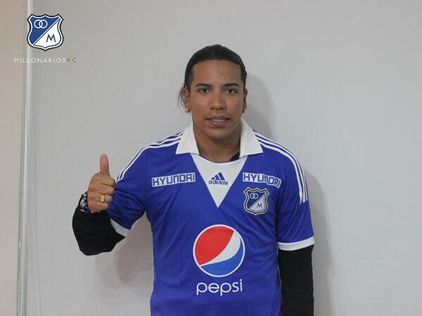 RT @MillosFCoficial: Dayro Moreno ya es nuevo jugador de Millonarios FC http://t.co/ebtkMB8Cof