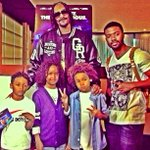 Me and my Cuzin @snoopdogg and my Lil relatives @ the moviez Supporting snoops new film