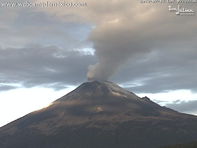 El semáforo de Alerta Volcánica para el #Popocatépetl se mantiene en Amarillo Fase 3 http://t.co/wbOr8j3ARE