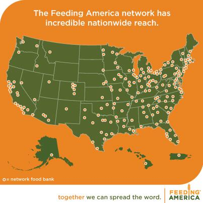 200+ member food banks in the national @FeedingAmerica network. Look at our reach! #SolveHunger http://t.co/JlAFyvIW2e