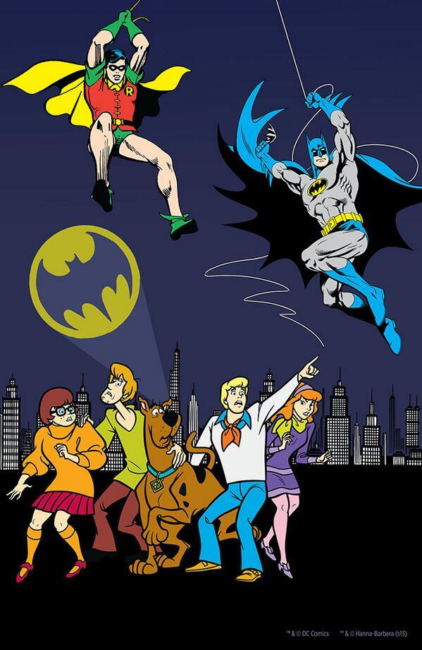 Scooby-Doo Meets Batman and Robin