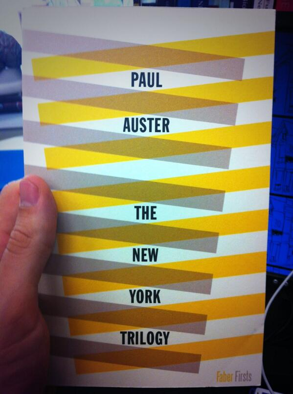 JUST LOOK at how beautiful this edition of Auster's New York Trilogy is: http://t.co/1Jcf6wM1Np