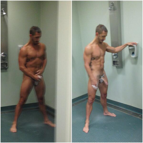 Bryan Cole (@BryanColeXXX): What's that mess I left on the floor?  #lockerroom #jerkoff http://t.co/FKHFc5eJrS
