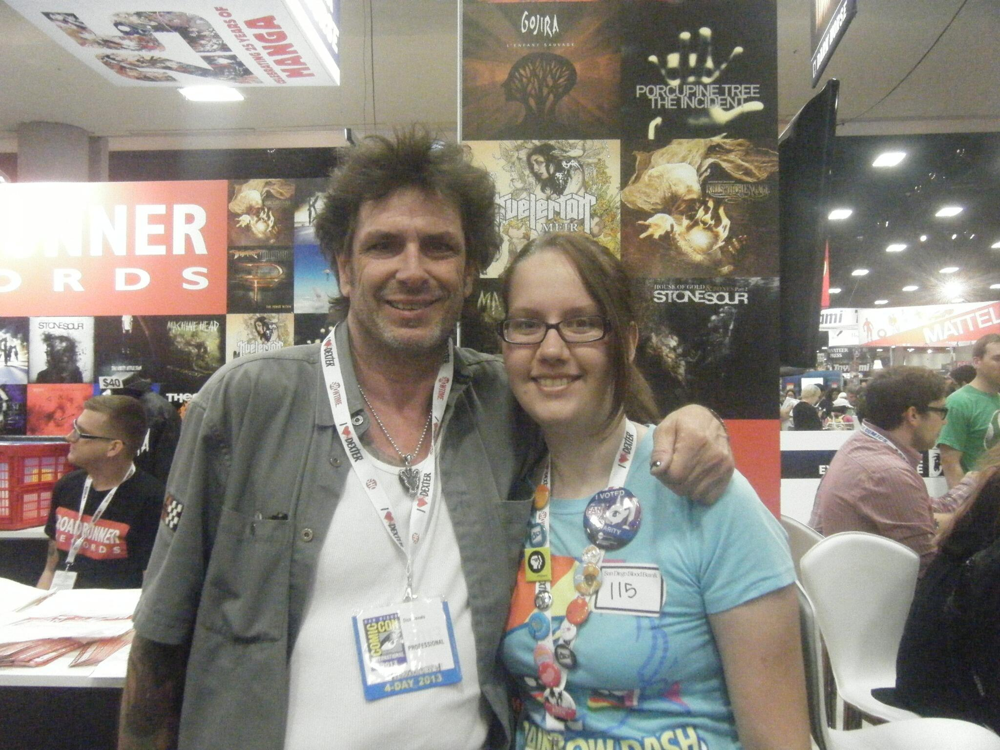 RT @skinXless: I was super excited to meet @EvelDick today! #BB8 #SDCC http://t.co/1SgLVoD6W2