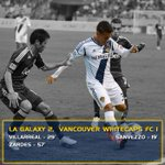 RT @LAGalaxy: FINAL SCORE: #LAGalaxy 2, @WhitecapsFC 1! Jose Villarreal and Gyasi Zardes with the Galaxy goals. http://t.co/xI25Pv3Ahf