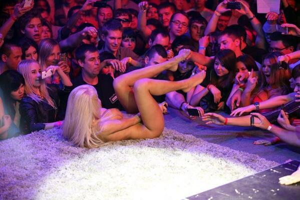 Порно шоу в барселоне