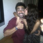 "Lol!Luv this pic.N u most,Noosh!""@VJAnusha:Start your day kissin d sweetest people u know!@AshishChowdhry is my pick http://t.co/oTTuvuZCvA"""