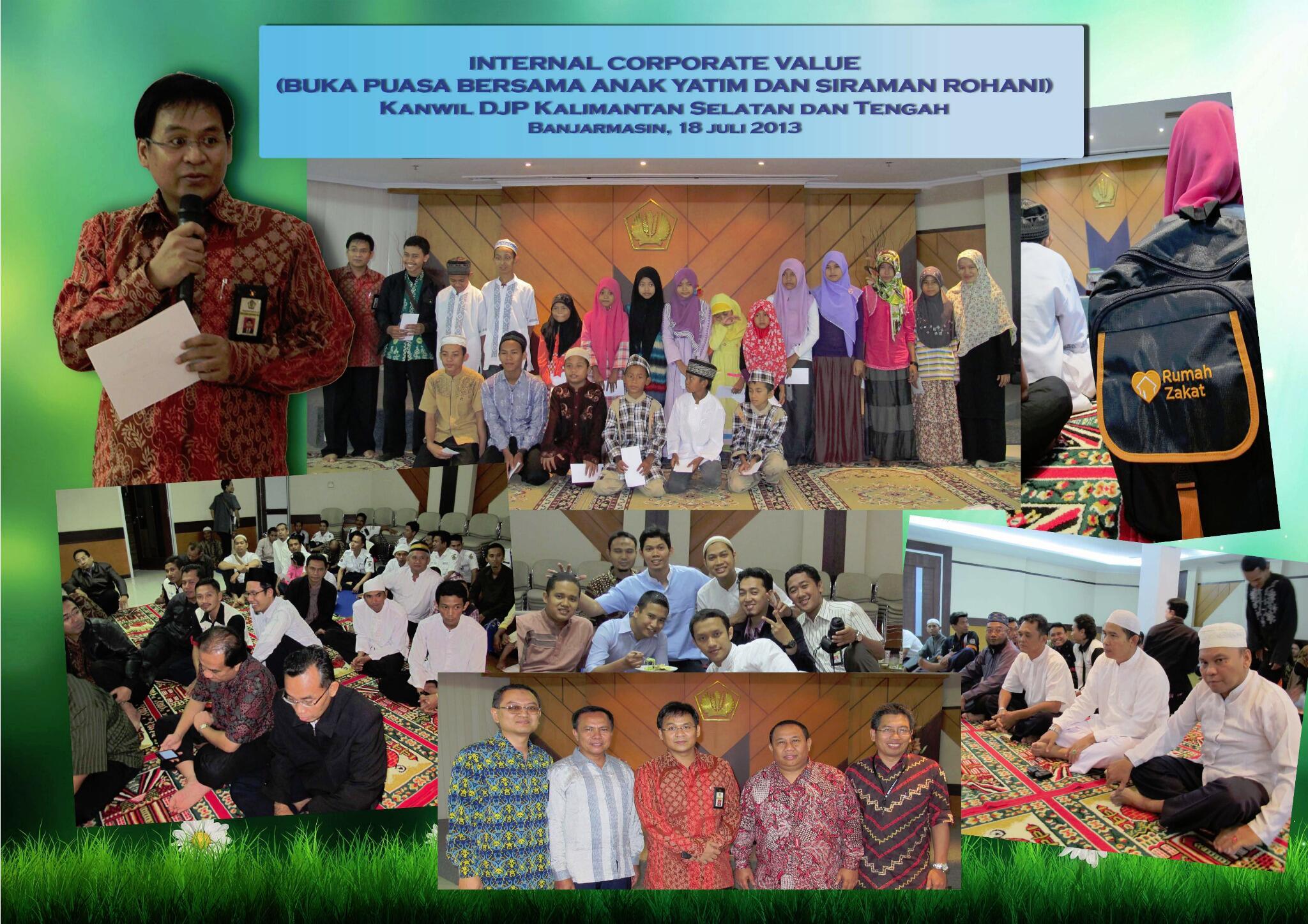 Buka Puasa Bersama Kanwil DJP Kalimantan Selatan dan Tengah 18 Juli 2013 @mekars http://t.co/gDggbG7CLf