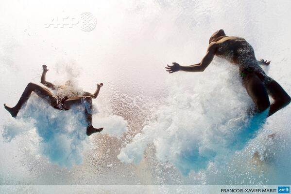 RT @SebMillet: Une photo au goût de peinture de Michel-Ange - Mondiaux de natation à Barcelone @afpfr http://t.co/nC61fCDoo2