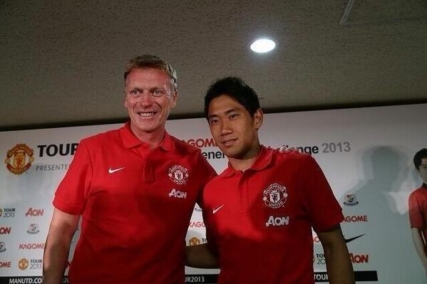 BPx 31PCUAAY9fX The Man United shooting competition in Yokohama: Score & you finish, miss & you go again