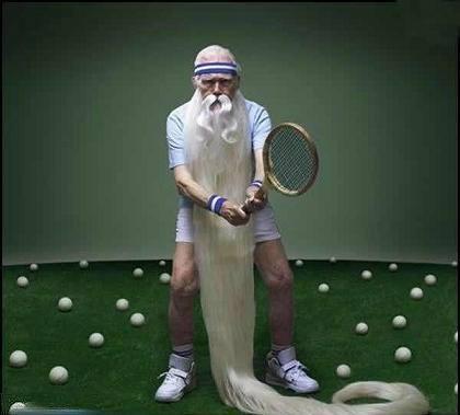 test ツイッターメディア - ゴルフの神様ならぬテニスの神様。王者フェデラーも超人ジョコビッチも赤土の王者ナダルもだーれも勝てません(笑いではw) https://t.co/9tvjgmOfVC