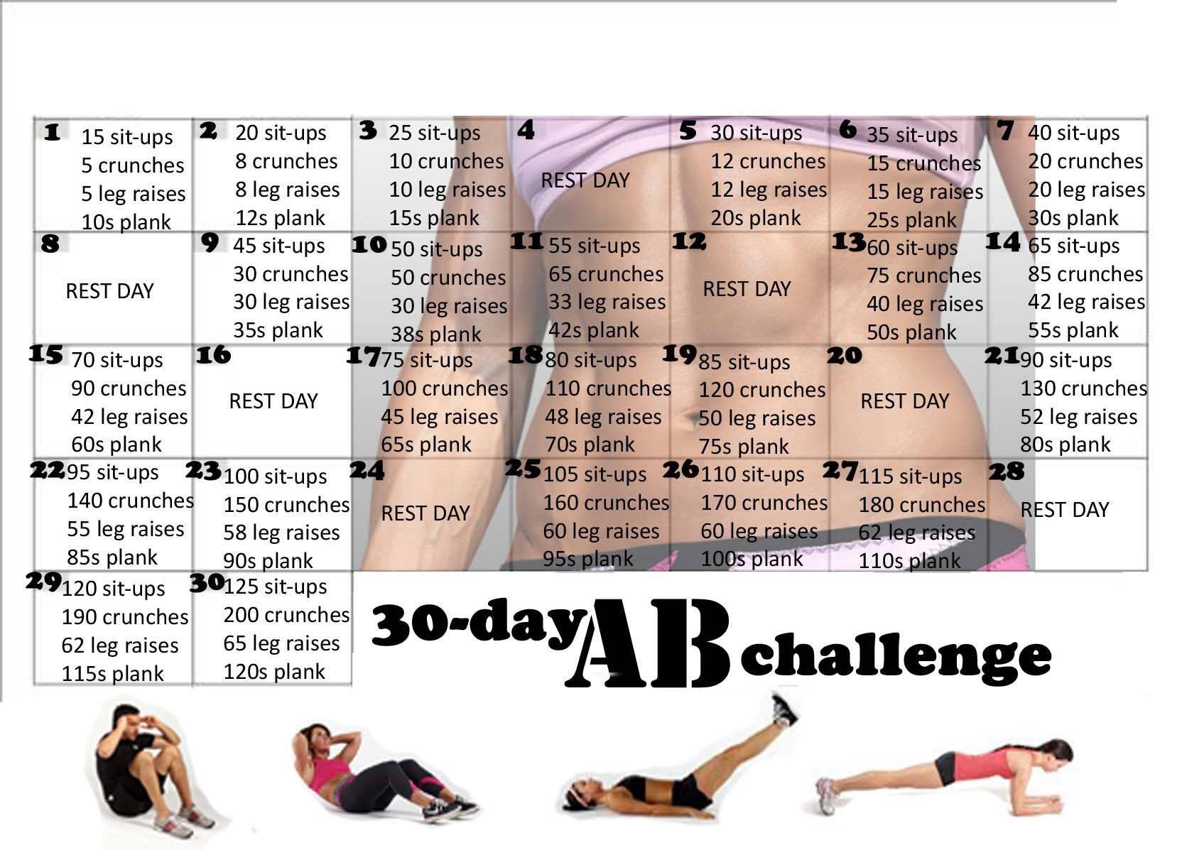 30 day Ab Challenge http://t.co/A1izQSGG6r