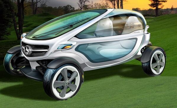 BPz wArCMAEG F3 In Pictures: Mercedes has designed the golf car of the future