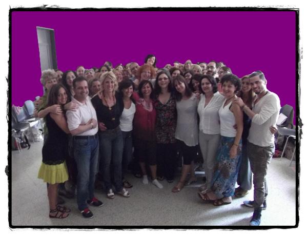 Con il gruppo del 18 luglio 2013. Un' istantanea per ri-trovare il piacere dell'esperienza condivisa. Un abbraccio. http://t.co/35Sw5DBsso