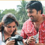 """A still from #VanakkamChennai where @actorshiva plays a guy from Village and @PriyaWajAnand plays a gal from abroad http://t.co/vkgoBI77Z1"""