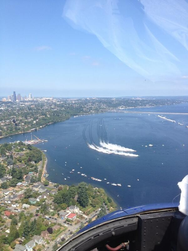Alexis Smith (@AlexisASmith): I'm convinced the only thing cooler than being in Chopper 7 would be driving one of the hydros! #Seafair http://t.co/mJJ7tawKJy