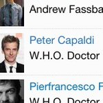 And, yes - I've also seen that Peter Capaldi, the new Doctor Who, was an old W.H.O. doctor in WORLD WAR Z: http://t.co/Vx32EeZNfu