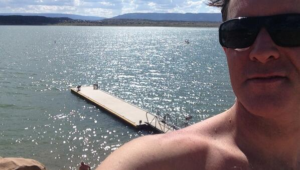 RT @packerdesign: @NMtourism refreshing swim at Abiquiu reservoir http://t.co/WHHD0Dbtz6