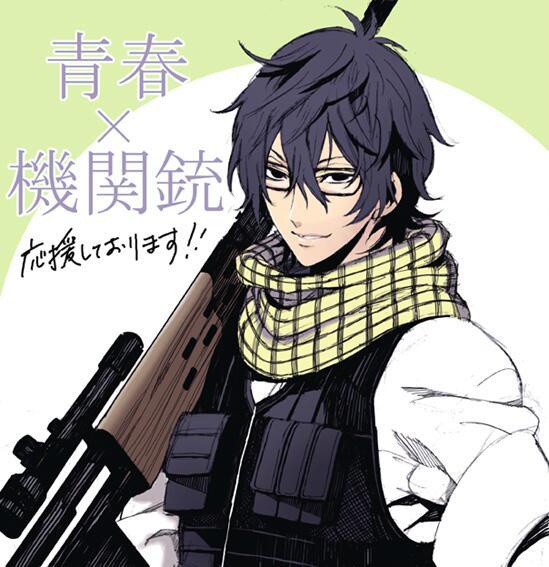 私の所でアシさんをしてくれてたNAOEさんの単行本「青春×機関銃」1、2巻が発売中です。遅くなりましたが発売おめでとう!