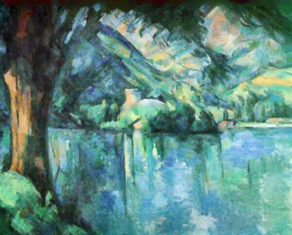 """RT @AlessandroForn6: Paul #Cézanne,  """"Lac d' Annecy"""" #artwit #art #twitart #iloveart #followart #fineart #artist #Annecy #artweet http://t.co/gdQaJmXkH7"""