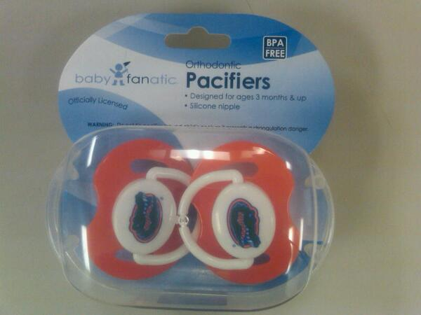 RT @JoseSEO305: @BenPattee thank you for the #Gators pacifiers! Very thoughtful! Now my baby boy is geared up for football season :-) http://t.co/lP7AYuyxVe