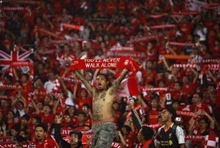 """This Is GBK """"@HHooligan: Liverpool FC and the Indonesian national team at Gelora Bung Karno Stadium in Jakarta http://t.co/fLQ1lmo75f"""""""