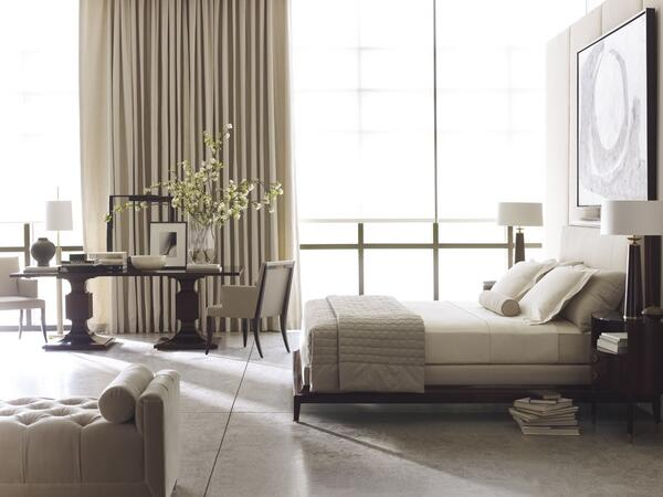 #DesignoftheDay This spacious, sunlit bedroom highlights our crisp and architectural Thomas Pheasant collection. http://t.co/6pNHe3jXuG