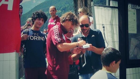 RT @ToroAmoreMioTV: Primo allenamento della stagione nel ritiro di #bormio per Alessio Cerci #torinofc http://t.co/DBk8wafNdS